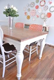 Paint Dining Room Table Sloan Chalk Paint Chairs Again One Project Closer