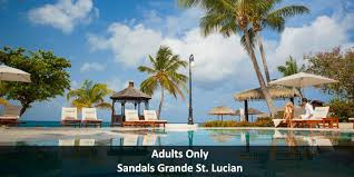 an adults only experience at sandals grande st lucian spa u0026 beach