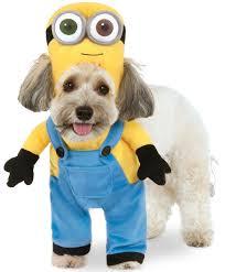 minion costumes despicable me minions minion bob dog costume pet dress up xs