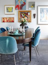 Fabric To Cover Dining Room Chairs Apartments Dining Room Colorful Chairs With Plush Also Set