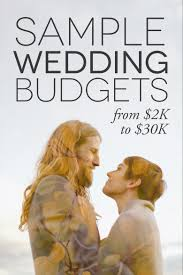 how to create a perfect for you wedding budget budgeting