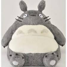 the ultimate item for totoro fans this one person couch is shaped
