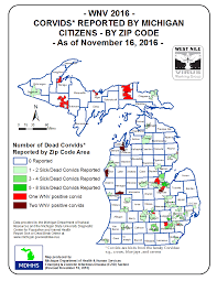 Map Of Northern Michigan by Emerging Disease Issues Testing Tables U0026 Maps