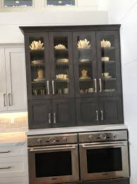 Coastal Kitchens Pinterest by Side By Side Double Ovens Over China Cabinet Thermadore