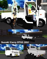 suzuki monster truck mmd suzuki dt65 commercial van by trackdancer on deviantart