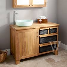 pull out baskets for bathroom cabinets bathroom furniture the cabana collection
