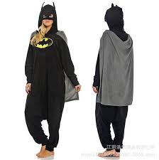 batman pajamas animal homewear costume unisex onesie