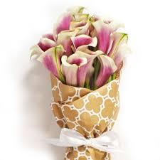 purple calla lilies picasso calla bouquet order now at calcallas
