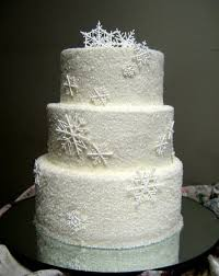winter wedding cakes beautiful winter wedding cakes with snowflakes ipunya