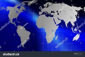 World Map Globe by Globe World Map On Blue Background Stock Illustration 26731606