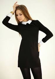 wednesday dress retro wednesday black white minidress dresses