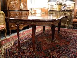 Louis XVI Style Mahogany Dining Table With Ormolu Banding Early - Mahogany kitchen table