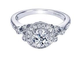 white gold diamond ring lr50665 j douglas jewelers gabriel halo engagement ring j douglas jewelers