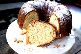 double vanilla pound cake ever after in the woods