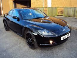mazda rx 8 1 3 192 ps black 2008 4dr private plate low mileage