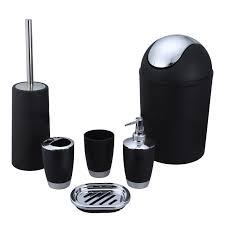Online Buy Wholesale Black White Bathroom Accessories From China - White plastic bathroom accessories
