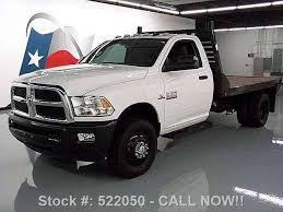 dodge ram 3500 flatbed dodge ram 3500 slt reg cab diesel drw flatbed 2013 commercial