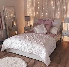 Girls Bedding And Curtains by Best 25 Bedroom Fairy Lights Ideas Only On Pinterest Room