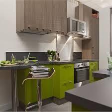 cuisines delinia meuble de cuisine delinia composition type topaze vert vert