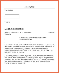 introduction letter 8 business letters of introduction