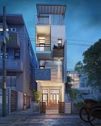 narrow house designs small narrow house 3d visualization fresh design nvus