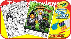 mcdonald u0027s lego ninajago happy meal coloring page crayola markers