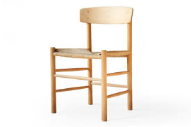 Shaker Dining Chair Børge Mogensen J49 Fredericia Beech Shaker Dining Chairs