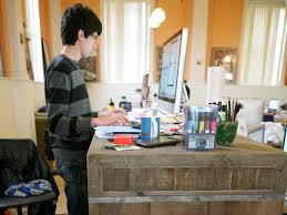 Make A Standing Desk by How To Make A Standing Desk At Work Best Home Furniture Decoration