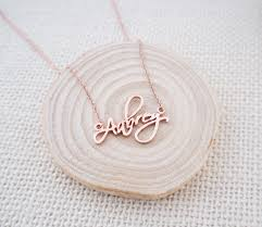 personalized name necklace silver images Personalized name necklace ashleeartis jpg