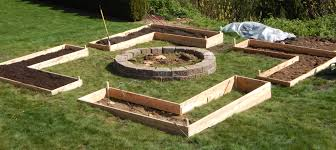 Building A Raised Vegetable Garden by Our Backyard Raised Vegetable Garden The Urban Hearth