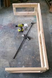 Rv Jackknife Sofa Cover by How We Built A Custom Rv Sofa Mountainmodernlife Com