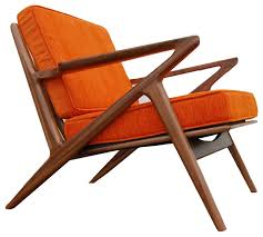 williamsburg walnut z chair midcentury armchairs and accent