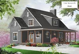 wraparound porch house plan w3518 detail from drummondhouseplans