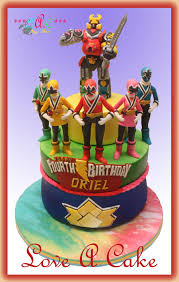 power rangers birthday cake power ranger samurai themed birthday cake cake by genzloveacake