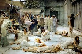 banchetti antica roma le feste i romanoimpero