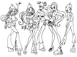 bratz coloring pages for girls best coloring pages for girls
