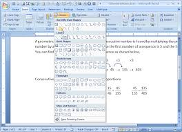 using the drawing tools in microsoft word