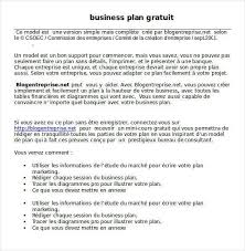 si e t ision simple business plan template worthy vision gratuit word 1 gopages