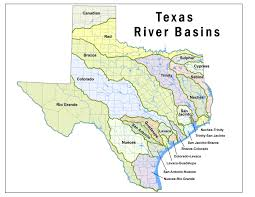 Texas rivers images Texas rivers and streams map my blog jpg