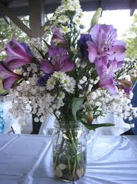 Purple Flower Centerpieces by 24 Best Flowers Centerpieces Images On Pinterest Water Beads