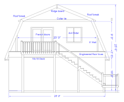 Shed Roof House Plans Roof House Plans Gambrel Framing Details Building Plans Online