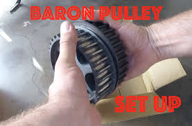 baron pulley installation youtube