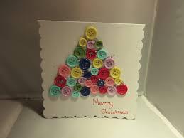 kids button christmas card crafts