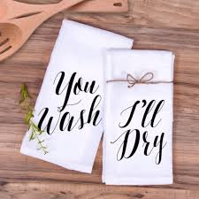 wedding gift towels kitchen towel gift set you wash i ll towels kitchens and