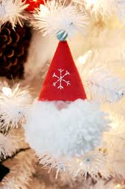 wee gnome pom pom ornaments