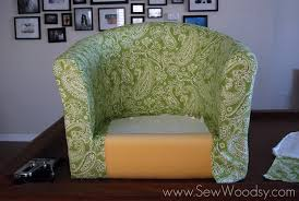 Recovering An Armchair Title U003e Recovering The Ikea Tullsta Chair U003c Title U003e Sew Woodsy