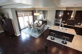 modern kitchen and dining room design model home kitchen and dining room modern kitchen toronto by