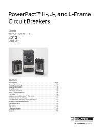 square d hdl26060 datasheet pdf