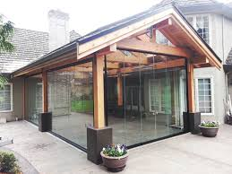 folding glass walls in vancouver port coquitlam bc