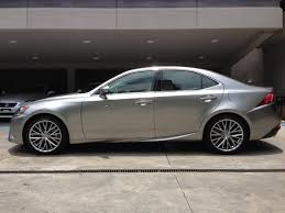 lexus is 250 custom wheels my car 2014 lexus is250 in atomic silver sheer happiness